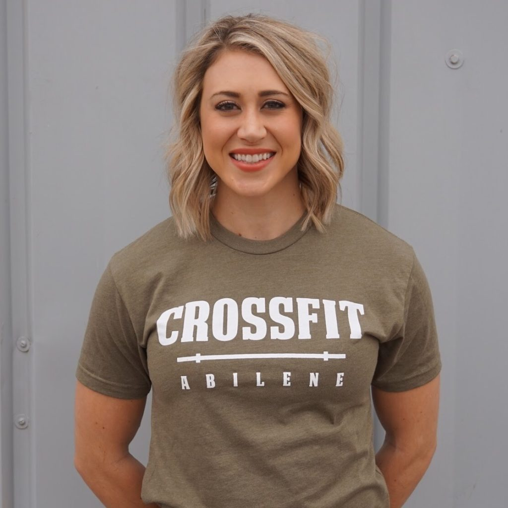 CrossFit Abilene Gym About Coach Jessie Young