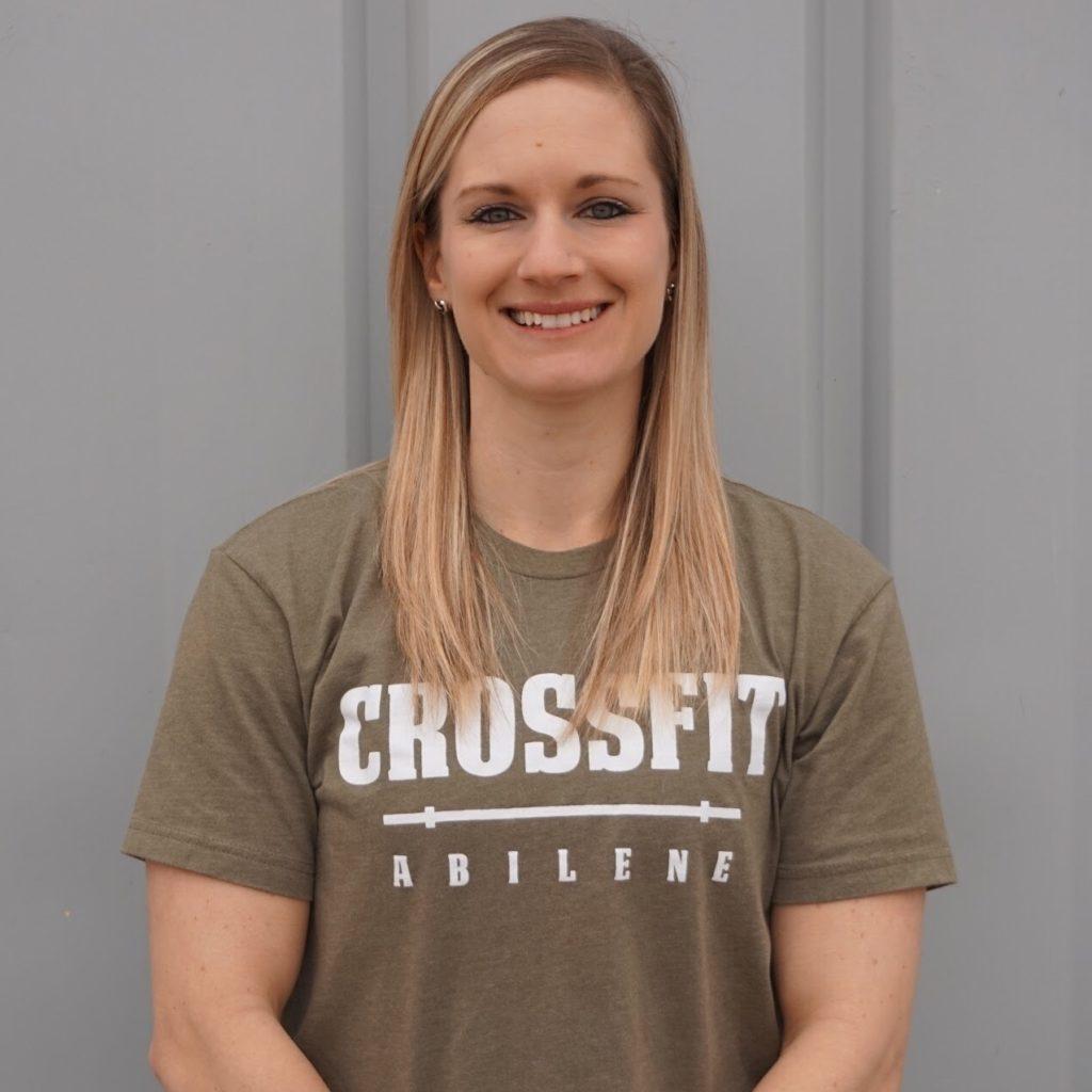 CrossFit Abilene Gym About CoachJodi Hierholzer
